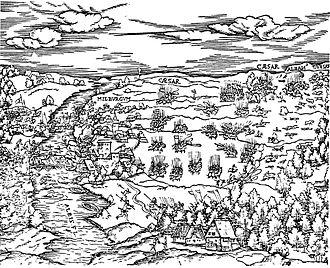 Battle of Mühlberg - Image: Schlacht bei Mühlberg 1547