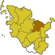 Плён на карте