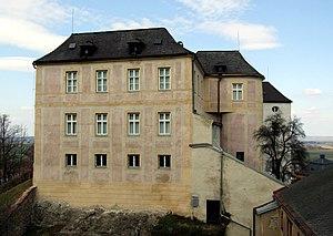 Jánský vrch - Image: Schloss Johannesberg (Jánský Vrch)