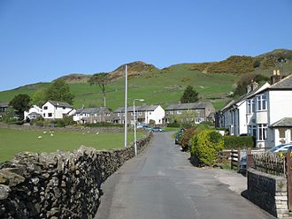 Staveley, Cumbria - School Lane, below Reston Scar