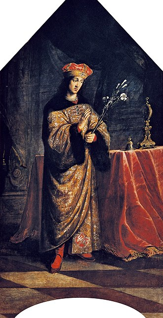 Saint Casimir - Saint Casimir by Daniel Schultz (1615–1683)