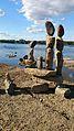 Sculpture de pierres balancées des rapides Remic Ottawa 0.jpg