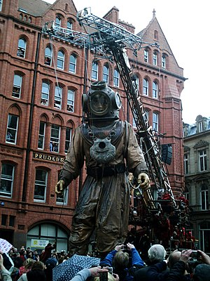 Sea Odyssey: Giant Spectacular - The Giant Uncle on Dale Street, 20 April