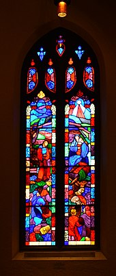 Seattle - University Methodist Temple - stained glass in sanctuary 07.jpg