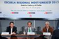 Secretario General de la Cancillería clausura V Escuela Regional del Programa MOST-UNESCO (9597644461).jpg