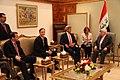 Secretary Kerry Meets With Deputy Assistant Secretary McGurk and Iraqi President Masum (15208153792).jpg