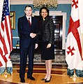 Secretary Rice With Prime Minister Zurab Noghaideli of Georgia (December 11, 2006).jpg
