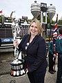 Secretary of State Karen Bradley MP attended the annual Isle of Man TT races (48060250781).jpg