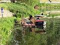 Sedlecký přívoz, přístaviště Sedlec, Skokan.jpg