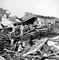 Seeking valuables in the wreckage, Galveston, Texas.jpg