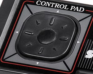 D-pad - Sega Master System D-pad providing eight-directional buttons.