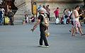 Selling Eiffel Tower statues under the Eiffel Tower.jpg