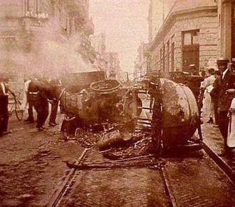 Tragic Week (Argentina) - Disturbances during Tragic Week