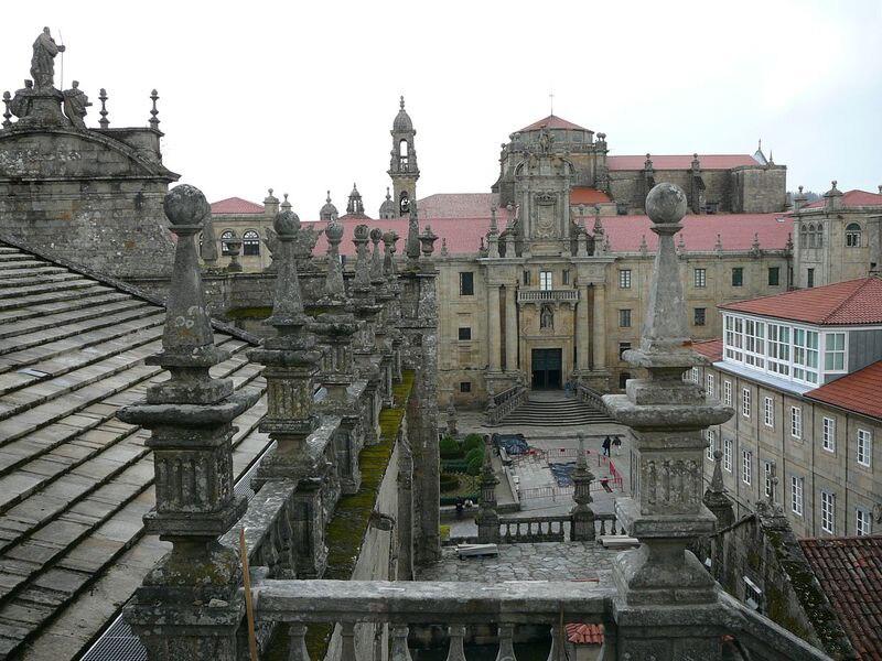 O Seminario Maior desde os tellados da Catedral.