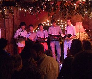 Semi-Toned - Semi-Toned's first performance in The Old Firehouse, 2010