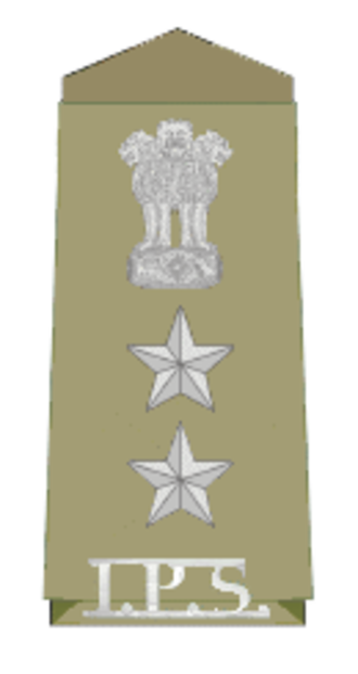 Superintendent of police (India) - Insignia of Senior Superintendent of Police