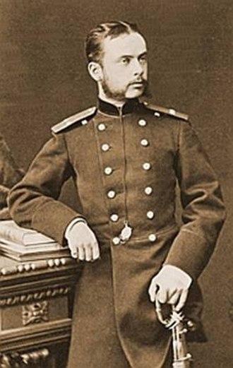 Seraphim Chichagov - Leonid Chichagov as an artillery officer, year unknown.