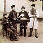 Serbian pandur 3 from left 1881.jpg