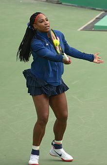 7d03e53f982 Obhájkyně dvou zlatých Serena Williamsová nepronikla do závěrečných kol