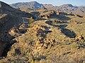 Service road to Canyon Lake dam - panoramio.jpg