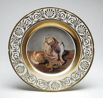 Coalport porcelain - Soup plate, 1809