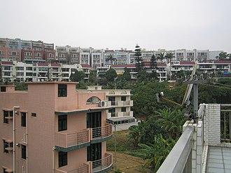 Sha Lan Tsuen - The new Housing Developments