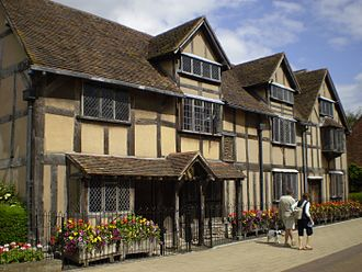 John Shakespeare - Shakespeare's restored house on Henley Street, Stratford, now open to the public as Shakespeare's Birthplace