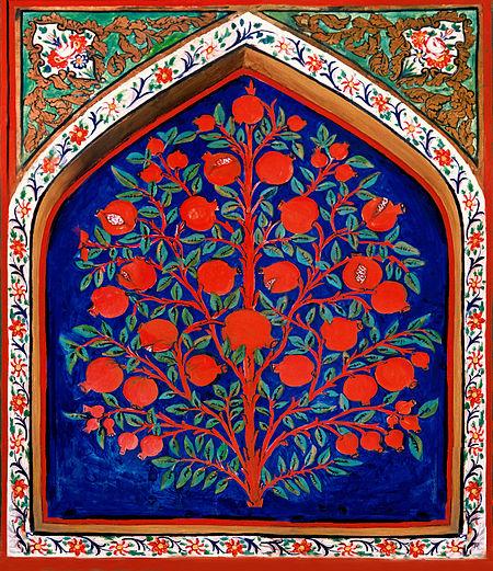 Shaki khan palace interier.jpg
