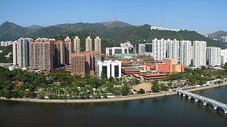 Private housing estates in Sha Tin District - Shatin Central Residential