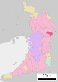 Shijonawate in Osaka Prefecture Ja.svg