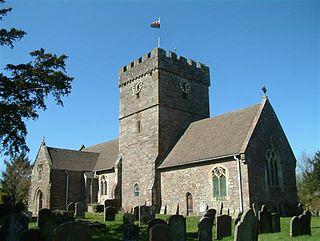 Shirenewton village in United Kingdom