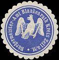 Siegelmarke Bürgermeister-Amt Blankenrath Kreis Zell a. Mosel W0379671.jpg