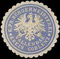 Siegelmarke K.Pr. Bürgermeisterei Vallendar Kreis Koblenz W0382703.jpg