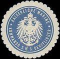 Siegelmarke K. Marine Kommando S.M.S. Derfflinger W0363996.jpg
