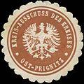 Siegelmarke Kreis-Ausschuss des Kreises Ost-Prignitz W0343999.jpg