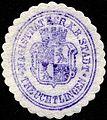 Siegelmarke Magistrat der Königlich Bayerischen Stadt - Treuchtlingen W0229235.jpg