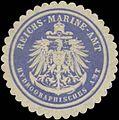 Siegelmarke Reichs-Marine-Amt Hydrographisches Amt W0363922.jpg