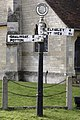 Sign Post, Waresley, Cambridgeshire - geograph.org.uk - 331977.jpg