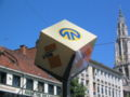 Sign of DeLijn (Belgium).JPG