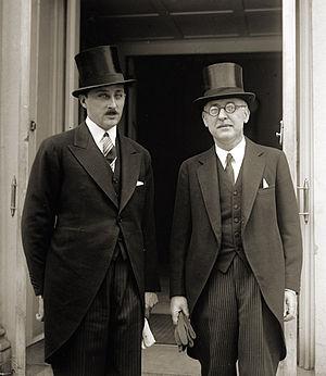 Simeon Radev - Prince Kiril of Bulgaria (left) and Simeon Radev (right)