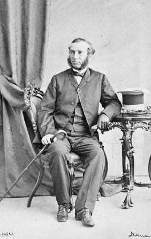 Fathers of Confederation - Image: Sir Alexander Campbell