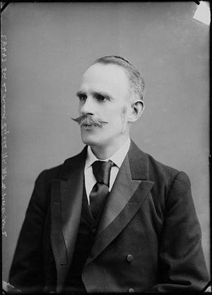 Leonard Lyell, 1st Baron Lyell - Lyell in 1898