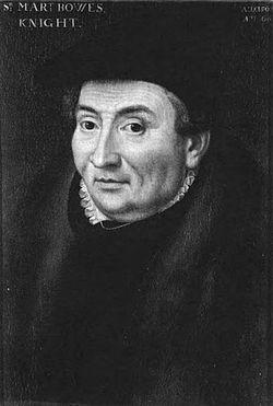 Sir martin bowes 1550