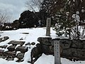 Site of Hondo of Sokenji Temple in a snowy day.JPG