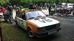 policejní Škoda 135