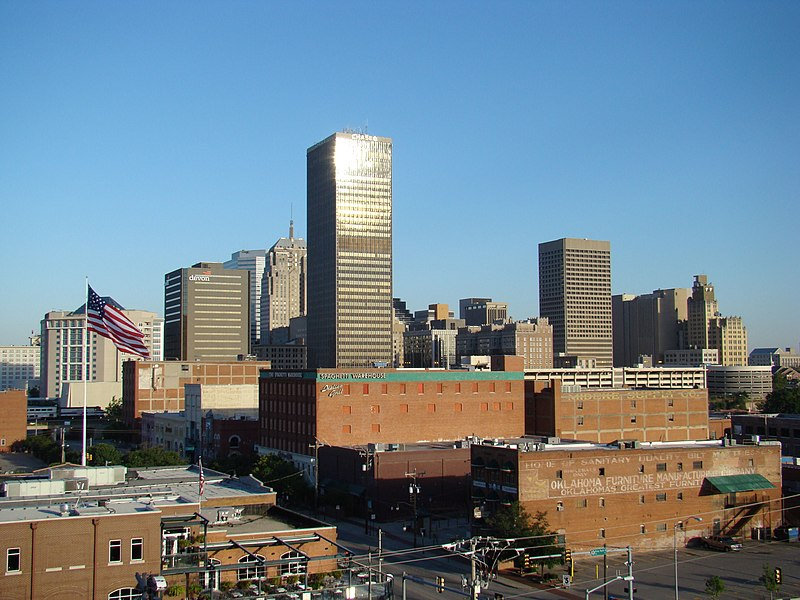 Vaizdas:Skyline From Parking Garage 2008.jpg