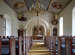 kyrka inuti