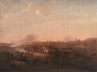 Battle of Sehested - Slaget ved Sehested by Jørgen V. Sonne