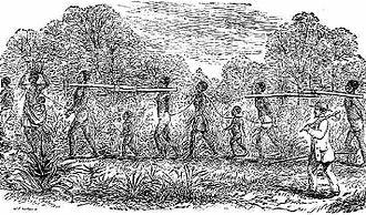 Moses Grandy - Image: Slave coffle