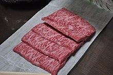 http://upload.wikimedia.org/wikipedia/commons/thumb/b/ba/Sliced_Matsusaka_wagyu_beef.jpg/220px-Sliced_Matsusaka_wagyu_beef.jpg